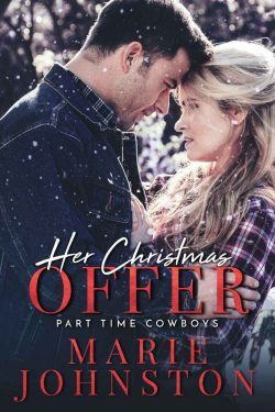 Her Christmas Offer - Part-time Cowboys